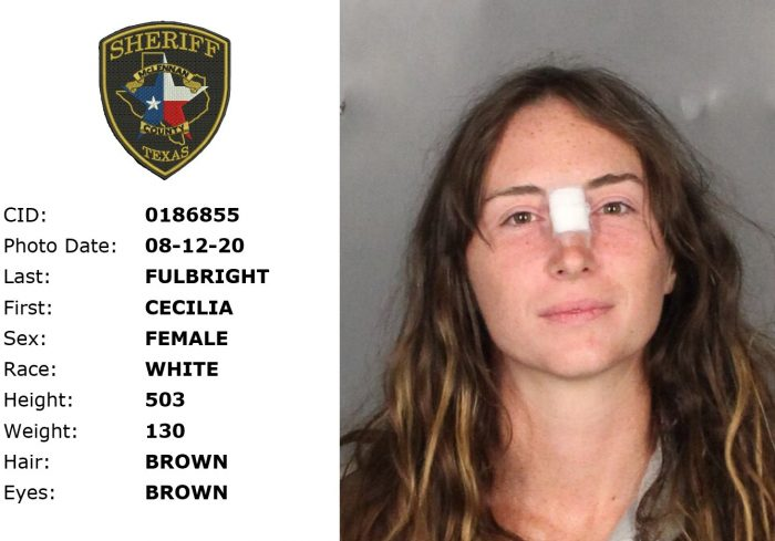 Cecilia Fulbright (Image: McLennan Country Sheriff's Office)