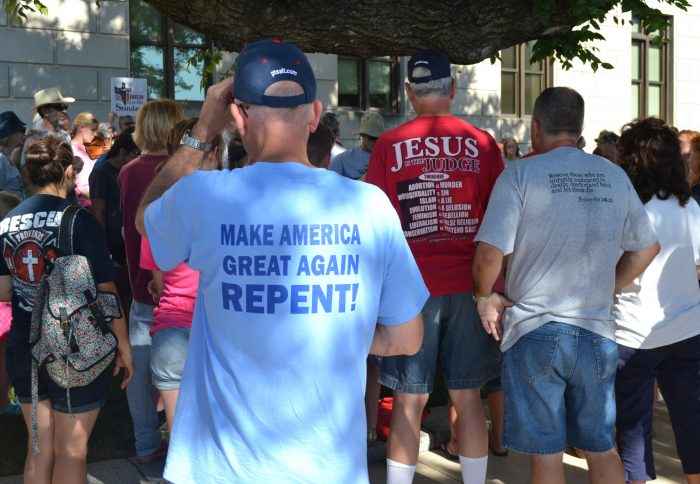 make america great again repent