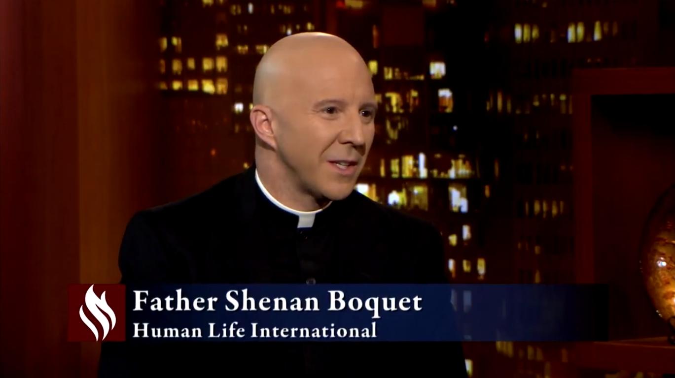 Image result for Fr. Shenan J. Boquet serves as president of Human Life International.