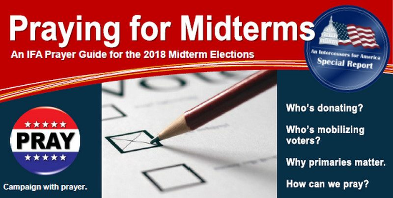 Intercessors For America Releases Guide To Electing 'Godly