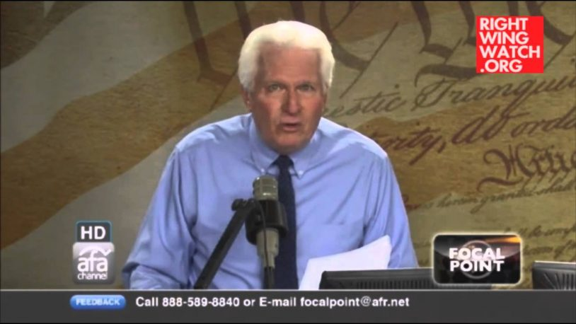 Bryan Fischer: Homosexuality Causes Blindness