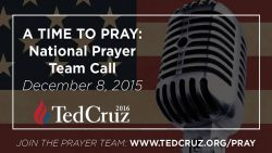 Cruz Prayer Team: 'We're In A Spiritual Battle' Against Gay Marriage