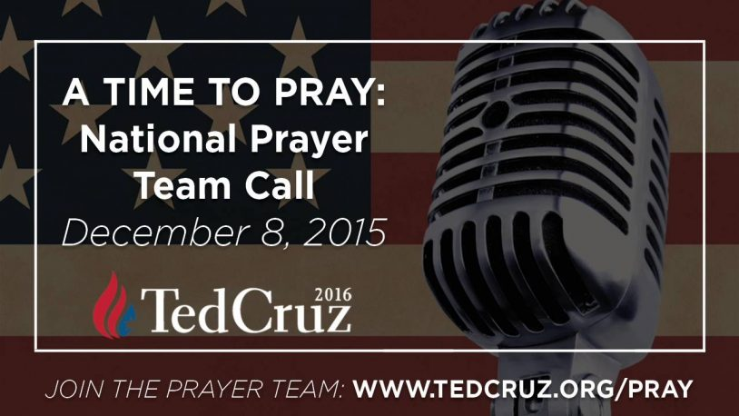 Cruz Prayer Team: 'We're In A Spiritual Battle' Against Gay Marriage