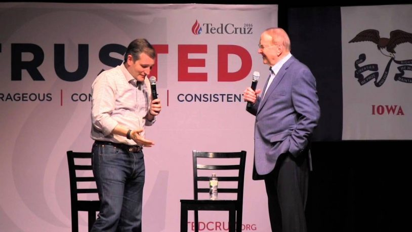 Cruz Rallies Christian Right, Slams 'Secular Agenda' At Campaign Stop With James Dobson