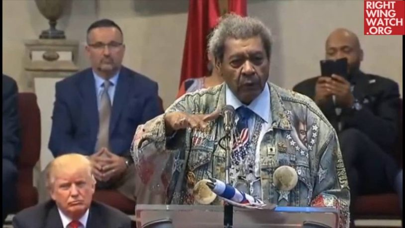 Don King: Donald Trump Will 'Lead Us To The Promised Land'
