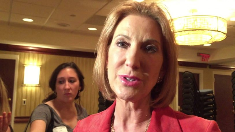 Fiorina Comes Out Against Federal Marriage Amendment