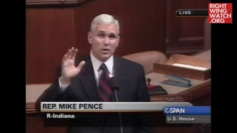 FLASHBACK: Mike Pence: 'It Is A Literal Truth… I Am In Congress Today Because Of Rush Limbaugh'