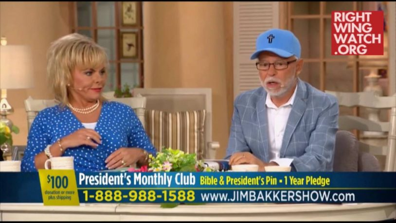 God Tells Jim Bakker Not To Believe The Polls Showing Trump Losing
