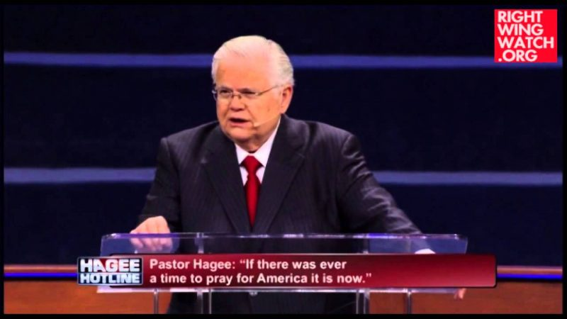 John Hagee Says Ebola Is God's Judgment On America Because