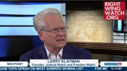 Larry Klayman: Obama 'Dismantled This Country' As 'Payback' For Racial Discrimination