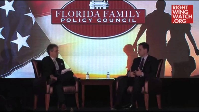 Marco Rubio Says Coronavirus Stimulus Legislation Will Provide Government Grants to Churches | Right Wing Watch