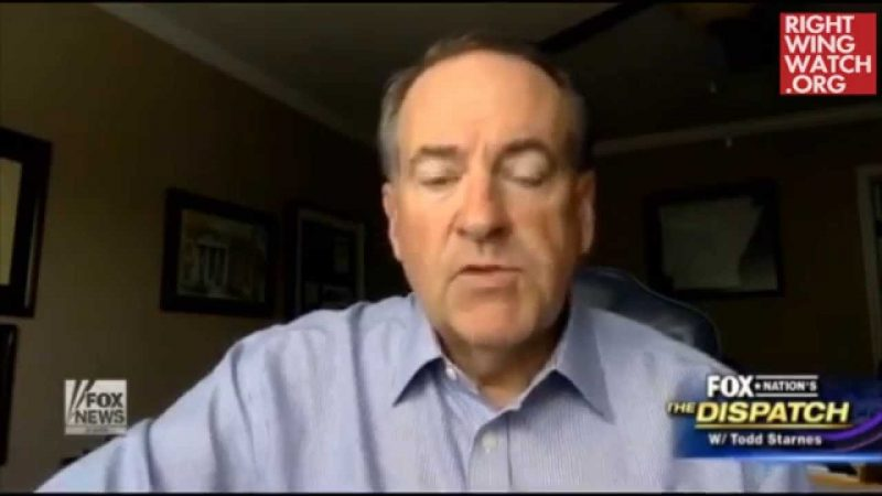 from Joziah mike huckabee on gay marriage