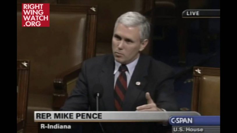 Mike Pence In 2003: Anti-Muslim Bigotry Makes Us 'No Better Than The Terrorists Who Attacked Us'