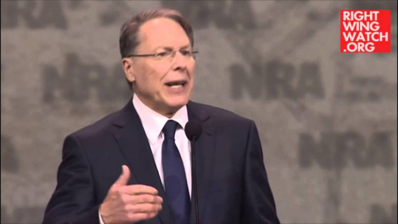 NRA's LaPierre: 'Hillary Rodham Clinton Will Bring A Permanent Darkness Of Deceit And Despair'