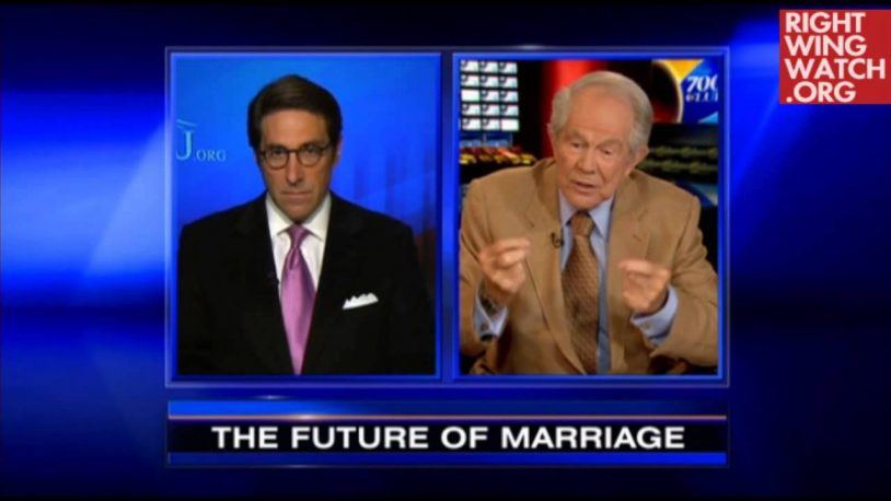Pat Robertson on Justice Kennedy: 'Does He Have Some Clerks Who Happen To Be Gays?'