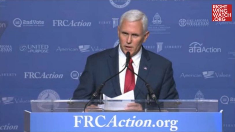 Pence: Trump Administration Will Begin Fight Against Abortion Rights On Day One