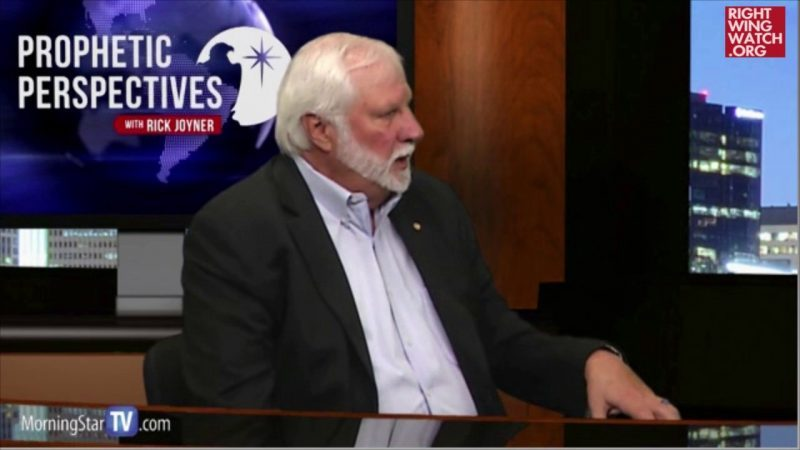 Rick Joyner: 'If You Look At The Disciples That Jesus Chose, They Were All Donald Trump'